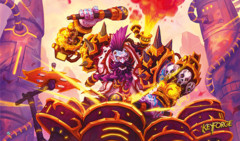 KeyForge Age of Ascension! Drummernaut Playmat