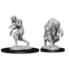 Pathfinder Deepcuts Unpainted Miniatures Annis Hag & Green Hag