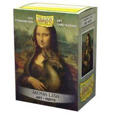 Dragon Shield - Box 100 - MATTE Art - Mona Lisa