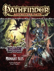 Pathfinder Aventure Path Wrath of the Righteous The Midnight Isles
