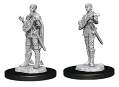 Nolzurs Marvelous Miniatures Female Half Elf Bard