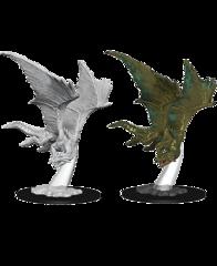 Nolzurs Marvelous Unpainted Miniatures Young Bronze Dragon