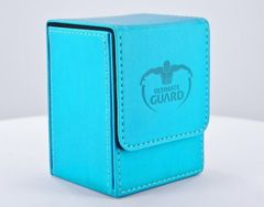 Flip Deck Case 80+ Standard Size Blue Deck Box