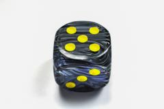 Vortex® 50mm w/pips Black/yellow d6 DV5028