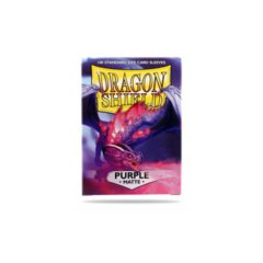 Dragon Shield Box of 100 Matte Purple Sleeves
