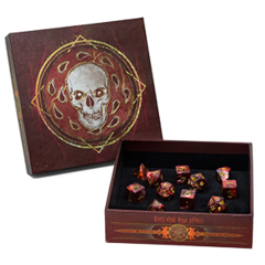 D&D Baldurs Gate Descent Into Avernus Dice Set