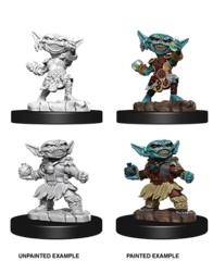 Deep Cuts Unpainted Miniatures Male Goblin Alchemist