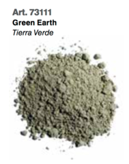Green Earth, Vallejo Pigments Val73111