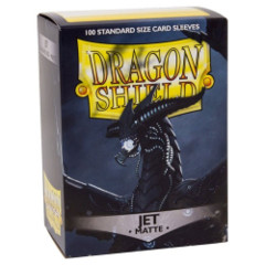 Dragon Shield Box of 100 in Matte Jet