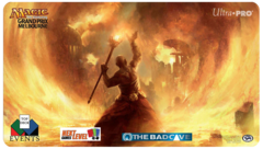 GP Melbourne Playmat 2014 Fated Conflaguration