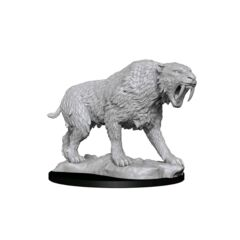 Deepcuts Unpainted Miniatures Saber-Toothed Tiger
