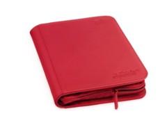 Folder Ultimate Guard 4-Pocket ZipFolio XenoSkin Red