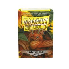 Dragon Shield - Box 100 - Tangerine MATTE