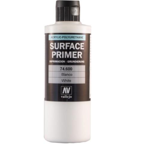 Vallejo Surface Primer Color White 200 ml 74600