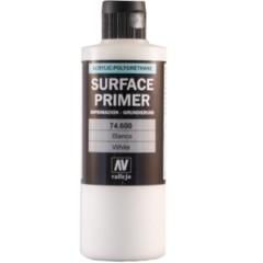 Vallejo Surface Primer Color White 200 ml 74600