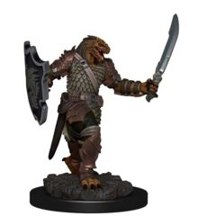 Premium Painted Figures Dragonborn Female Paladin