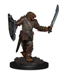 Premium Painted Figures Dragonborn Female Paladin