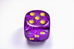 Vortex® 50mm w/pips Purple/gold d6 DV5007