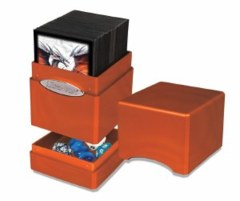 Ultra Pro Satin Tower Pumpkin Deck Box