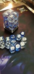 Games Cube Dice Nebula Blue