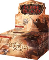 Flesh and Blood TCG Monarch Booster Box Unlimited Print