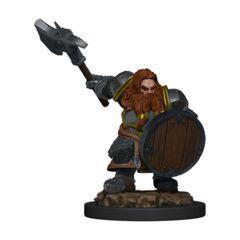 D&D Premium Painted Figures Dwarf Fighter Male