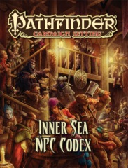 Pathfinder Campaign Setting Inner Sea NPC Codex