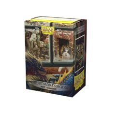 Dragon Shield - Box 100 - Art - Christmas Dragon
