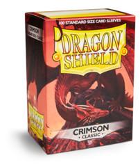 Sleeves - Dragon Shield - Box 100 - Crimson