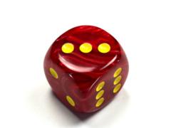 Vortex® 30mm w/pips Red/yellow d6