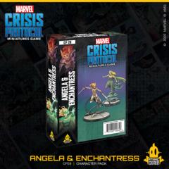 Marvel Crisis Protocol Miniatures Game Angela & Enchantress