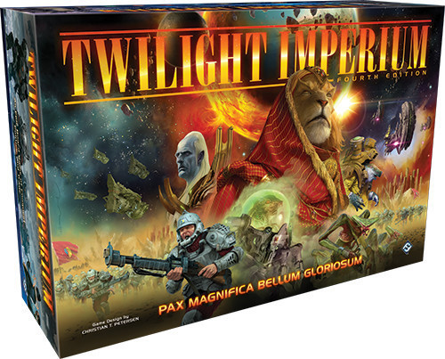 Twilight Imperium 4th Ed Incliding Hard Cover Rulebook and Posters
