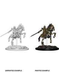 Pathfinder Deep Cuts Unpainted Miniatures Skeleton Knight on Horse
