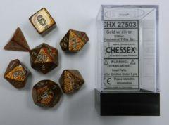 7 Die Set Glitter Gold/Silver 27503