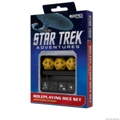Star Trek Adventures Dice Set Operations Gold