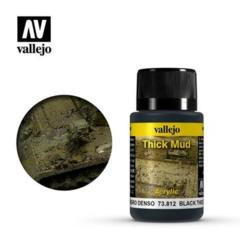 73812 Weathering Effects Black Thick Mud 40 ml