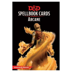 D&D Spellbook Cards Arcane Deck