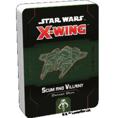 (PREORDER) Star Wars X-Wing 2nd Edition Scum and Villainy Damage Deck
