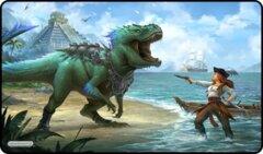 Dinosaur and Pirate