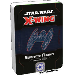 Star Wars X-Wing 2nd Edition Separatist Alliance Damage Deck