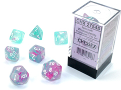Nebula® Polyhedral Wisteria/white Luminary™ 7-Die Set 27545