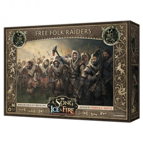 A Song of Ice and Fire Free Folk Raiders - MINIATURES » A Song of