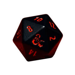 ULTRA PRO GAMING ACCESSORIES -Heavy Metal D20 Dice Set for Dungeons & Dragons
