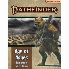 Pathfinder Second Edition Age of Ashes Adventure Path #3 Tomorrow Must Burn