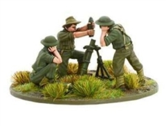 Australian medium mortar team Pacific