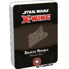 (Preorder) Star Wars X-Wing 2nd Edition Galactic Republic Damage Deck