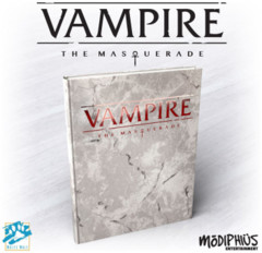 Vampire the Masquerade 5th Edition Deluxe