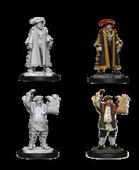Deep Cuts Unpainted Miniatures Mayor & Town Crier