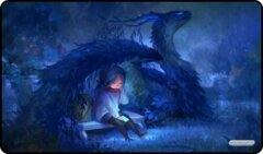 Dragon with Girl Reading