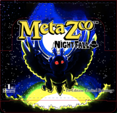 MetaZoo TCG Nightfall Booster Box Display